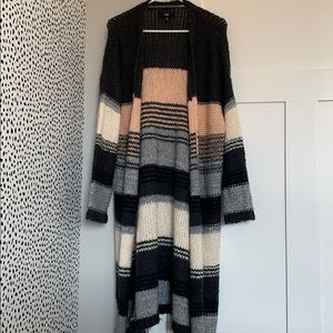 Mossimo long knit cardigan